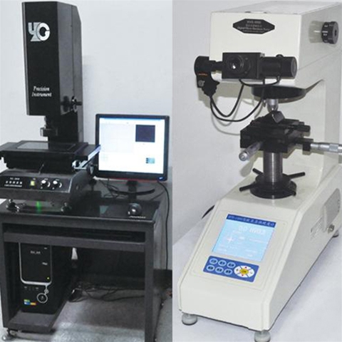 Display of gear image tester of reducer
