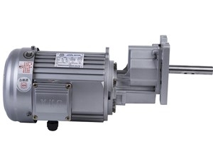 The application of gear reducer on the on-line material separating machine