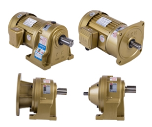 Horizontal installation of CH single-phase three-phase gear reducer