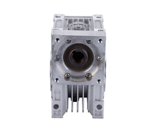 Nrv150 shaft output worm gear reducer